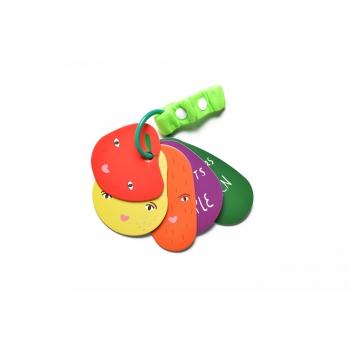 Fruits & Veggie Stroller Cards