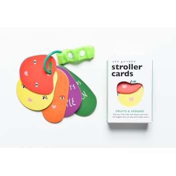Fruits & Veggie Stroller Cards
