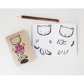 32 Ways to Dress Up Drawing Book - Cat