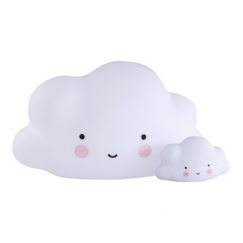 White Mini Cloud Light