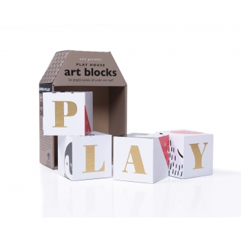 Playful Scenes Play House Art Blocks