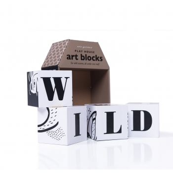 Wild Scenes Play House Art Blocks