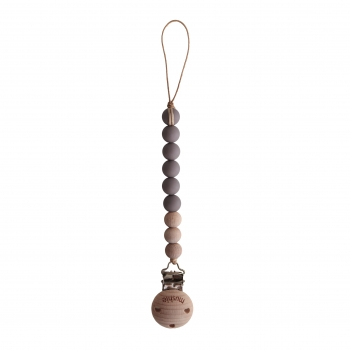 Pacifier Clip Cleo Ash / Wood