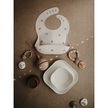 Pacifier Holder Case Natural