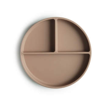 Silicone Plate Natural