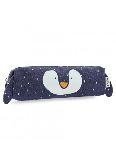 Mr Penguin Long Pencil Case