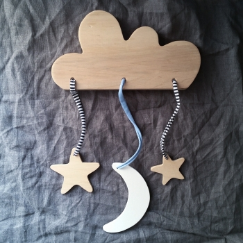 Handmade Wooden Mobile