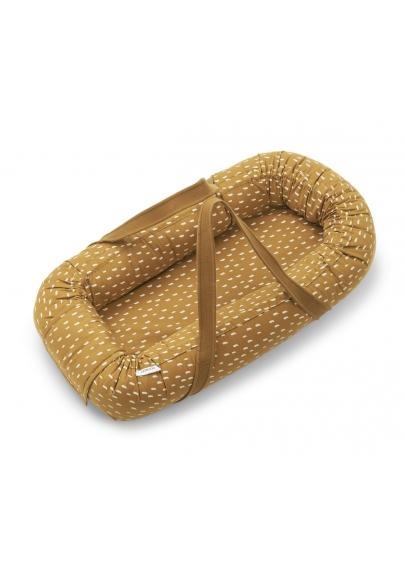 Gro Baby Nest Graphic Stroke Golden Caramel