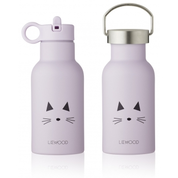 Anker Cat Lavender Water Bottle