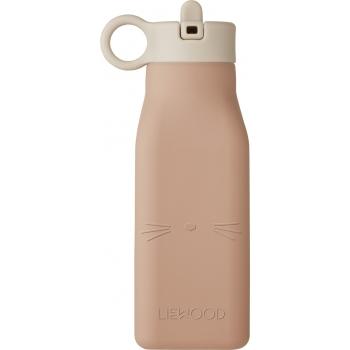 Warren Cat Silicone Water Bottle Rose