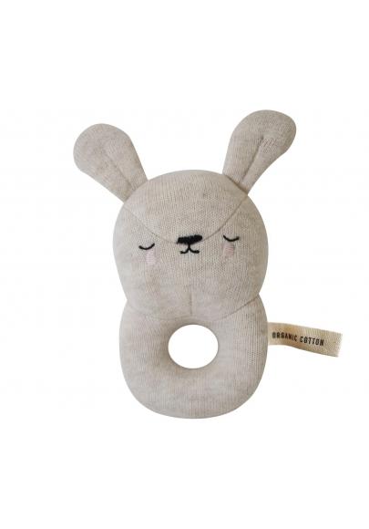 Bunny Baby Rattle