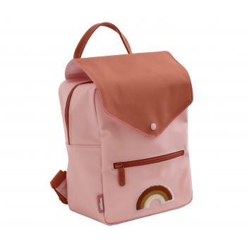 Rainbow Print Small Backpack