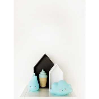 Blue Mini Ice Cream Night Light