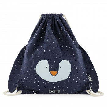 Mr Penguin String Bag
