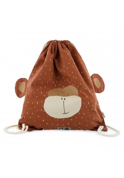 Mr Monkey String Bag