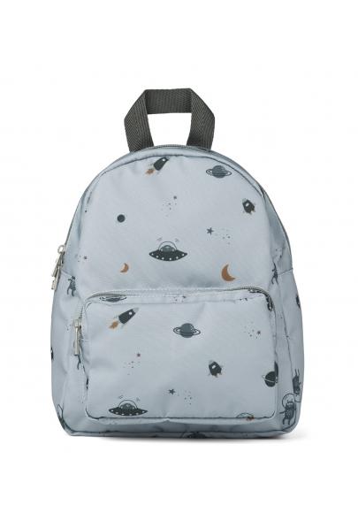 Space Blue Fog Allan Backpack