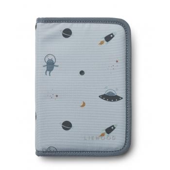 Space Blue Fog Peggy Pencil Case