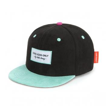 Suede Black Cap