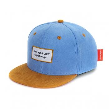 Suede Ice Blue Cap