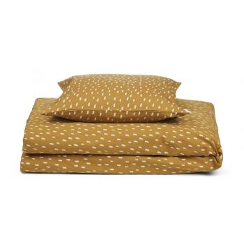 Graphic Stroke / Golden Caramel Ingeborg Junior Bedding