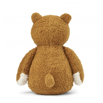 Barty The Bear Soft Toy Golden Caramel