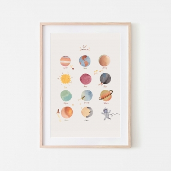 Large Space Poster