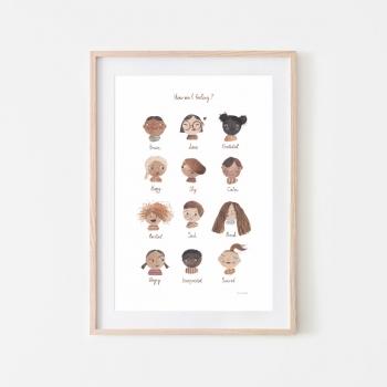 Large Feelings Poster
