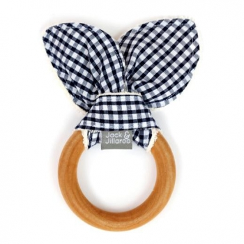 Cowboy Navy Teether