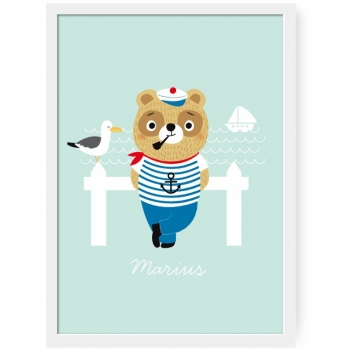 Marius - Sailor Bear Poster