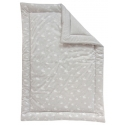 Swan Large Quilt - Grey