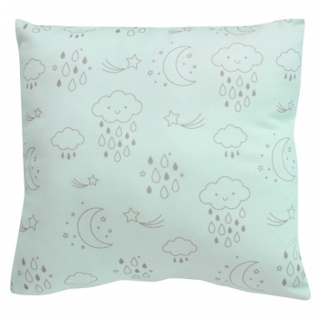 Moon & Stars Blue Cushion