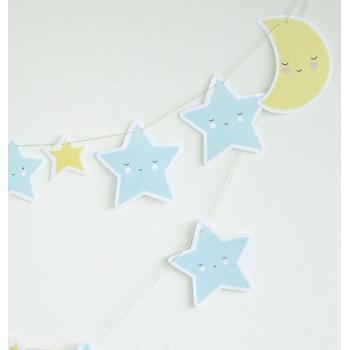 Moon & Stars Garland