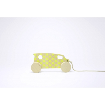 Pull Toy - Chevy Van - Yellow Stars