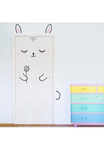 Anni the Bunny Door Friend