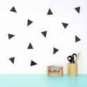 Black Triangle Wallstickers