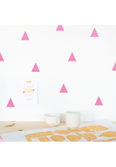 Pink Triangle Wallstickers