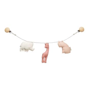 Rosé Animal Pram chain