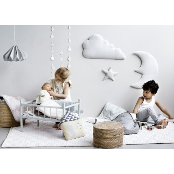 Mint Moon Star Cloud Wall Decoration