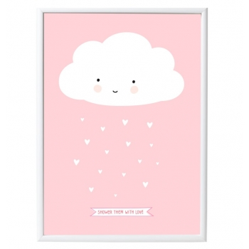 Pink Cloud Poster
