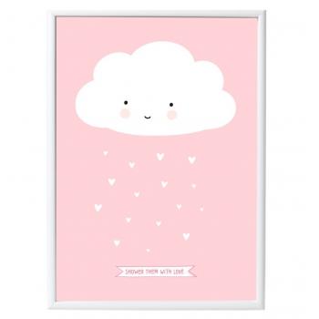 Pink Cloud Poster