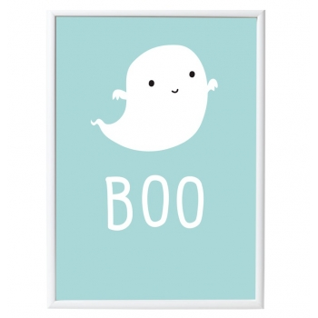 """Ghost Poster """"Boo"""""""