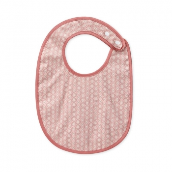 Eating Bib – Sashiko Blush