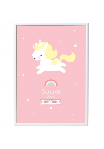 Unicorn Poster A Little Lovely Company Heylittlebaby