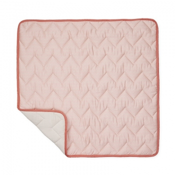 Sashiko Blush Blanket