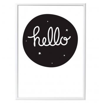 Hello Poster