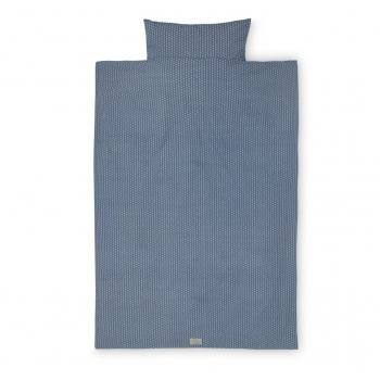 Sashiko Blue Baby Bedding