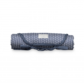 Sashiko Blue Changing Mat