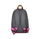 Grey / Pink Backpack
