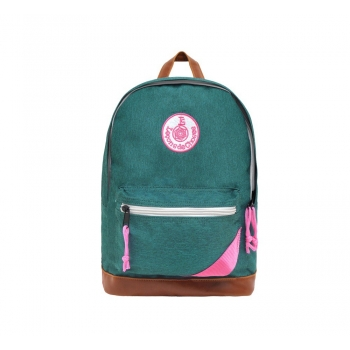 Green / Pink Backpack