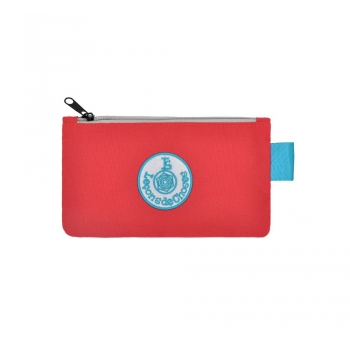 Small Red / Blue Pencil Case